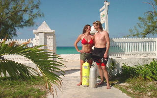 Grand Turk accommodation - Manta House, a bed and breakfast on the beach in Grand Turk, Turks and Caicos Islands - the classic Grand Turk scuba diving vacation!